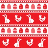 Easter ornament pattern Royalty Free Stock Photo