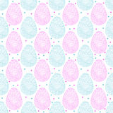 Easter ornate eggs Royalty Free Stock Images