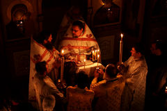 Easter in the Orthodox Church Stock Photography