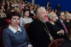Easter Orthodox conference in Gomel (Belarus) is 14 April 2015. Stock Image