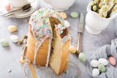 Easter orthodox sweet bread Stock Photo