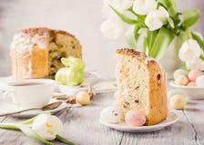 Easter orthodox sweet bread Stock Image