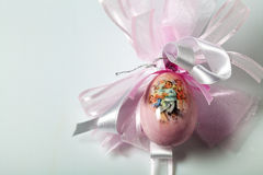 Easter, ovo decorado fotografia de stock royalty free