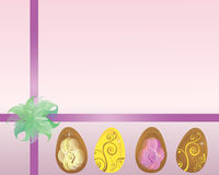 Easter package. Paper to packing or wrapping a easter gift Royalty Free Stock Photos