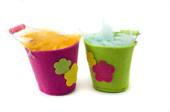 Easter pails Royalty Free Stock Images