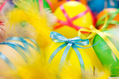 Easter painted eggs Stock Photography