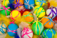 Easter painted eggs Stock Image