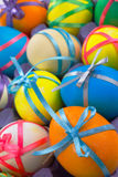 Easter painted eggs Royalty Free Stock Photo