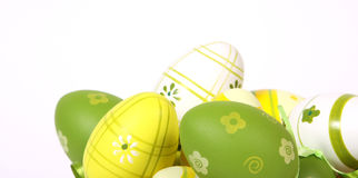 The Easter painted eggs