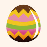 Easter painting egg theme elements vector,eps Royalty Free Stock Photos