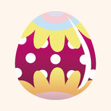 Easter painting egg theme elements vector,eps Royalty Free Stock Photo