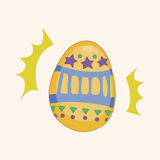 Easter painting egg theme elements vector,eps Royalty Free Stock Photography