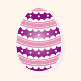 Easter painting egg theme elements vector,eps. Vector illustration file Stock Image