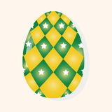 Easter painting egg theme elements vector,eps. Vector illustration file Stock Images