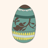 Easter painting egg theme elements vector,eps Royalty Free Stock Images