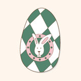 Easter painting egg theme elements vector,eps Stock Photos
