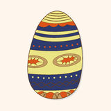 Easter painting egg theme elements vector,eps. Vector illustration file Royalty Free Stock Image