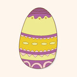 Easter painting egg theme elements vector,eps. Vector illustration file Stock Photos