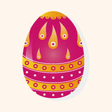Easter painting egg theme elements vector,eps. Vector illustration file,vector illustration file Royalty Free Stock Photography