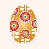 Easter painting egg theme elements vector,eps Stock Photography