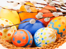 Easter painting eggs Royalty Free Stock Photo