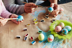 Easter painting Royalty Free Stock Images