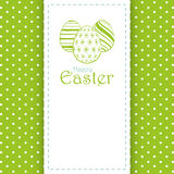 Easter panel background Royalty Free Stock Image
