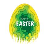 Easter Paper Background Royalty Free Stock Image