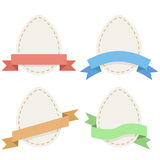 Easter paper eggs Royalty Free Stock Photo