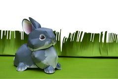 Easter paper rabbit Stock Image