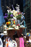 Easter Parade and Easter Bonnet Festival Stock Photo