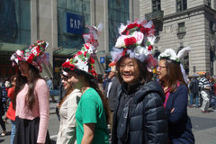 Easter Parade and Easter Bonnet Festival Royalty Free Stock Image