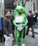 The Easter Parade in front of St. Patrick`s Cathedral on 5th avenue in New York City Stock Images