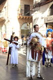 Easter parade in Palermo of Sicily, Italy Stock Photo