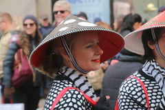 2016 Easter parade Royalty Free Stock Image