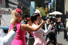 Easter parade photographers Stock Photography