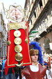 Easter parade, Sicily Royalty Free Stock Images