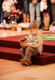 Easter, parishioners of the Orthodox Church. Royalty Free Stock Photography