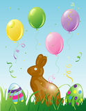 Easter Party background Royalty Free Stock Photo