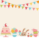 Easter party Royalty Free Stock Images