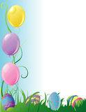 Easter Party Border Royalty Free Stock Images