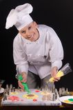 Easter Pastry Chef Royalty Free Stock Image