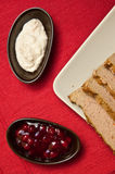 Easter pate food composition Royalty Free Stock Photography
