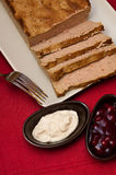 Easter pate food composition Stock Photography