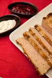 Easter pate food composition Stock Image