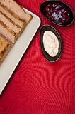 Easter pate food composition Royalty Free Stock Photos