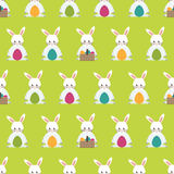 Easter pattern Stock Images