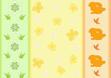 Easter pattern Royalty Free Stock Image