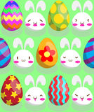 Easter Pattern Royalty Free Stock Photo