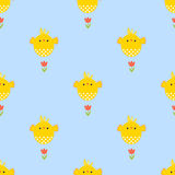 Easter pattern Royalty Free Stock Photos